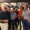 Socios de ANAREVI en la visita a la planta de Llodio de Recuperaciones de Vidrio Aguado e Hijos